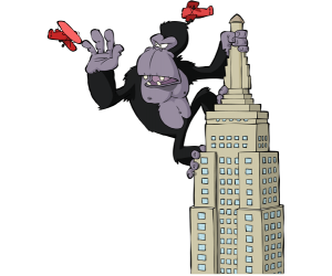King Kong, un colosal y monstruoso gorila Juego