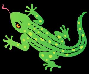 Juego de Unir Puntos de Reptiles para imprimir